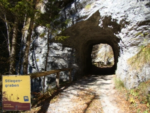 handgeschlagener Tunnel
